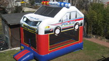 Cop Bounce House
